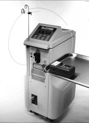 CoolTouch CTEV™ 1320nm laser and automatic pullback device (Courtesy CoolTouch, CoolTouch Corp)