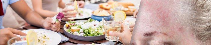 How Diet affects Rosacea