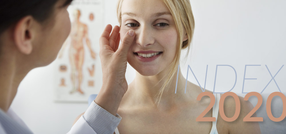 image of skin exam by a dermatologist